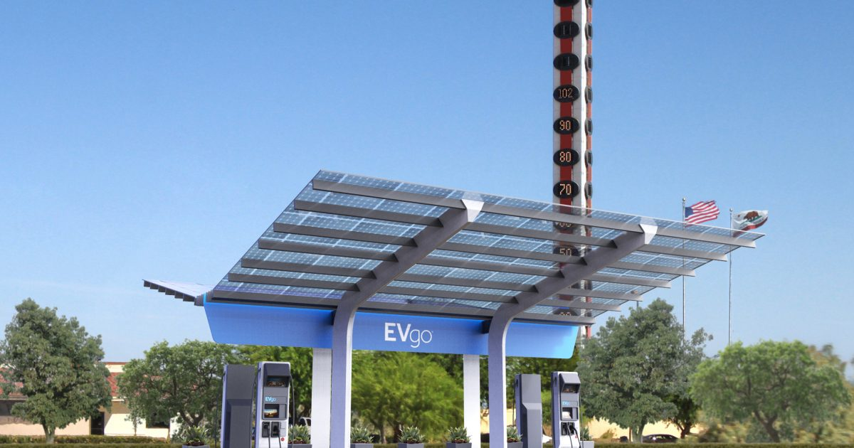 EVgo charging