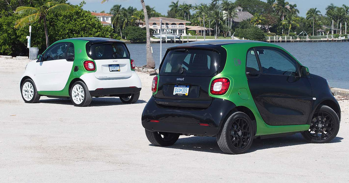 Smart ForTwo ED 2017