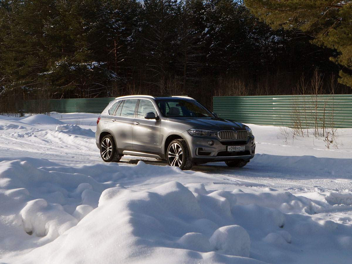 BMW X5 xDrive 40e winter