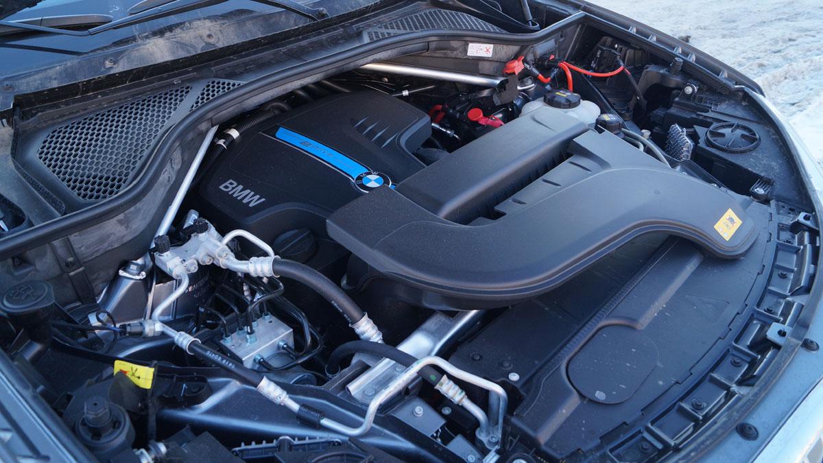 BMW X5 xDrive 40e winter