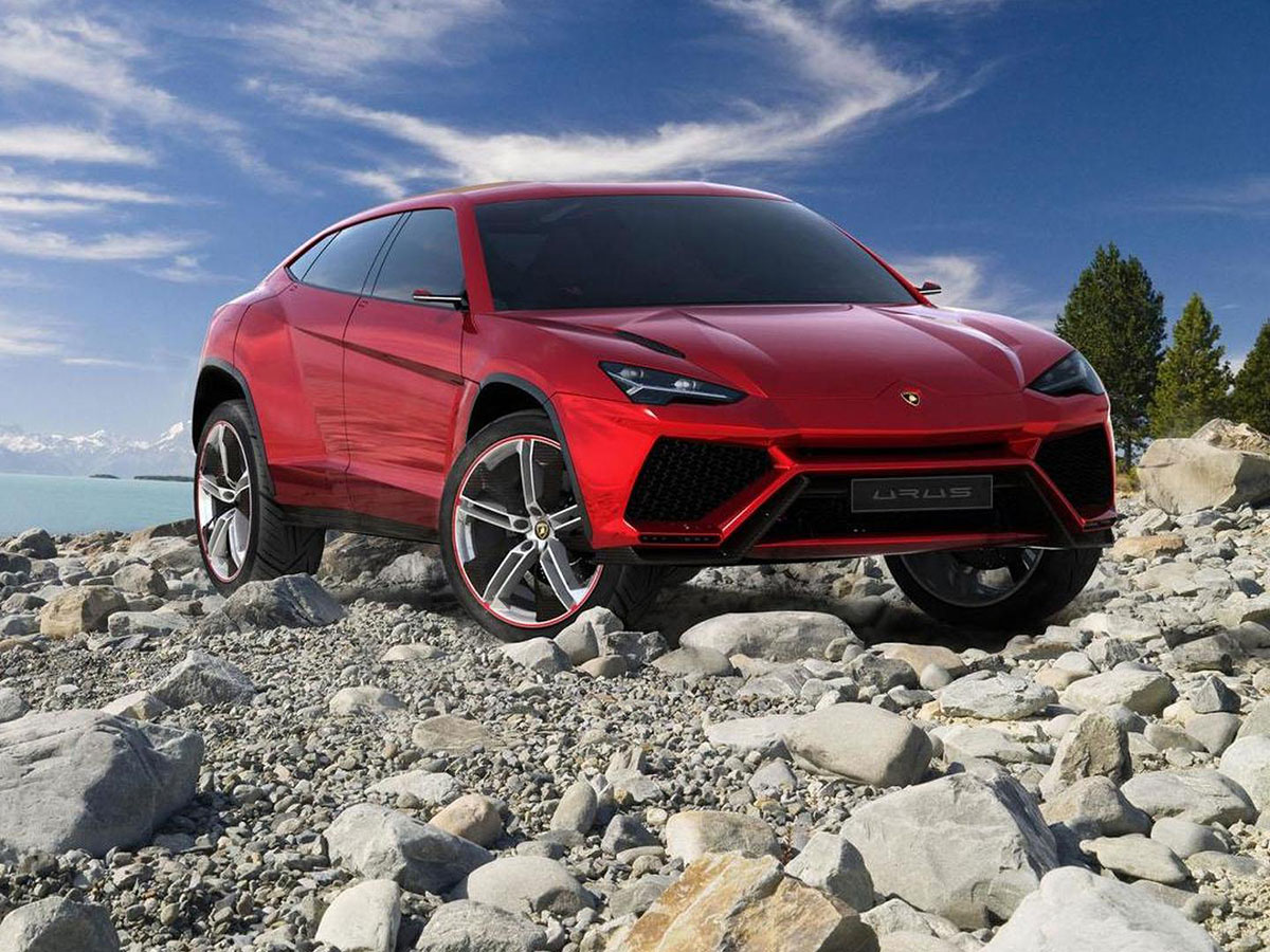 Lamborghini Urus станет гибридом