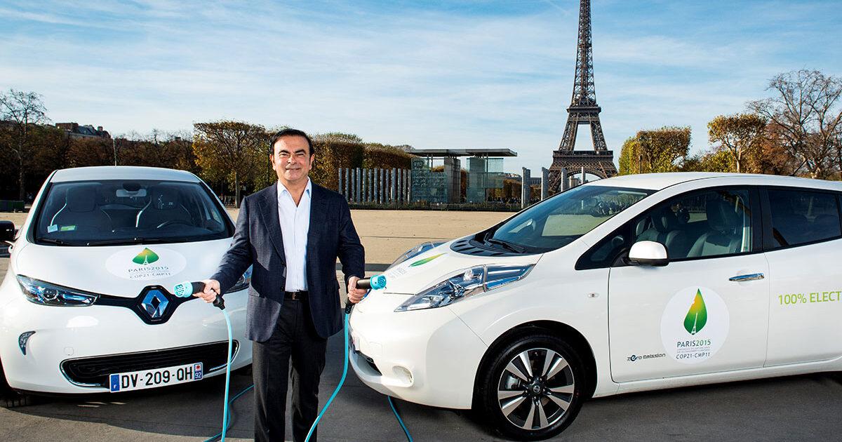 электромобили Renault Zoe Nissan Leaf