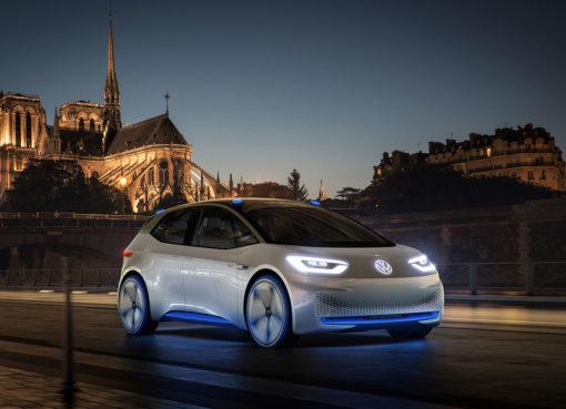 электромобиль Volkswagen I.D. concept