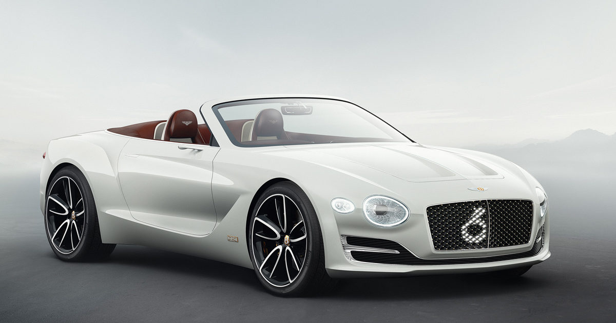 Bentley EXP 12 Speed 6e Roadster Concept