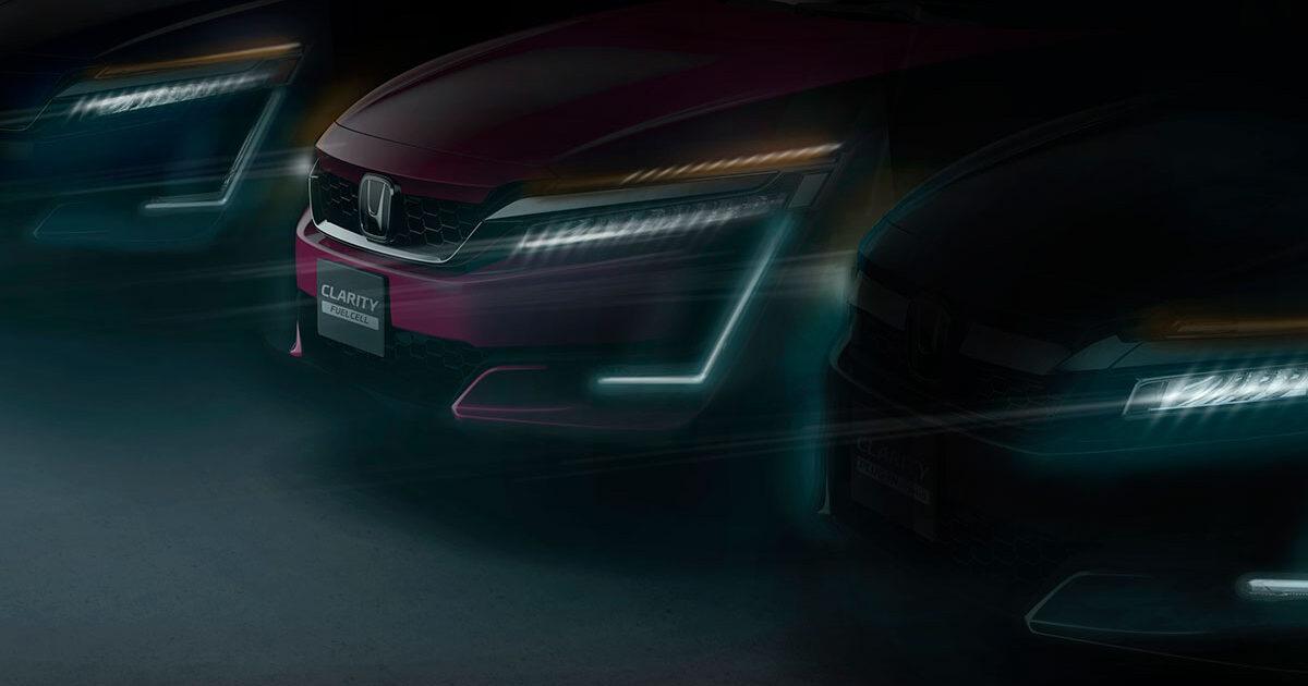 Honda Clarity teaser