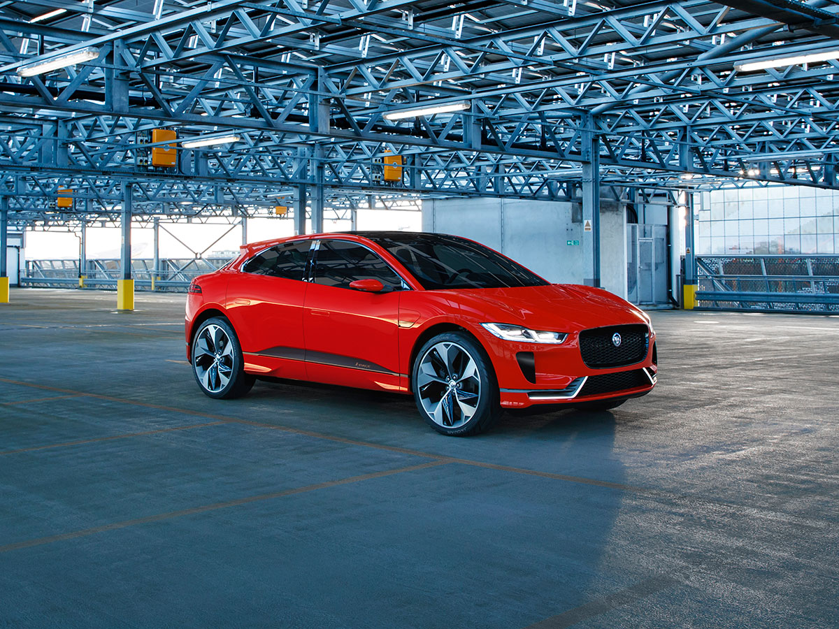 Jaguar I-Pace Photon Red