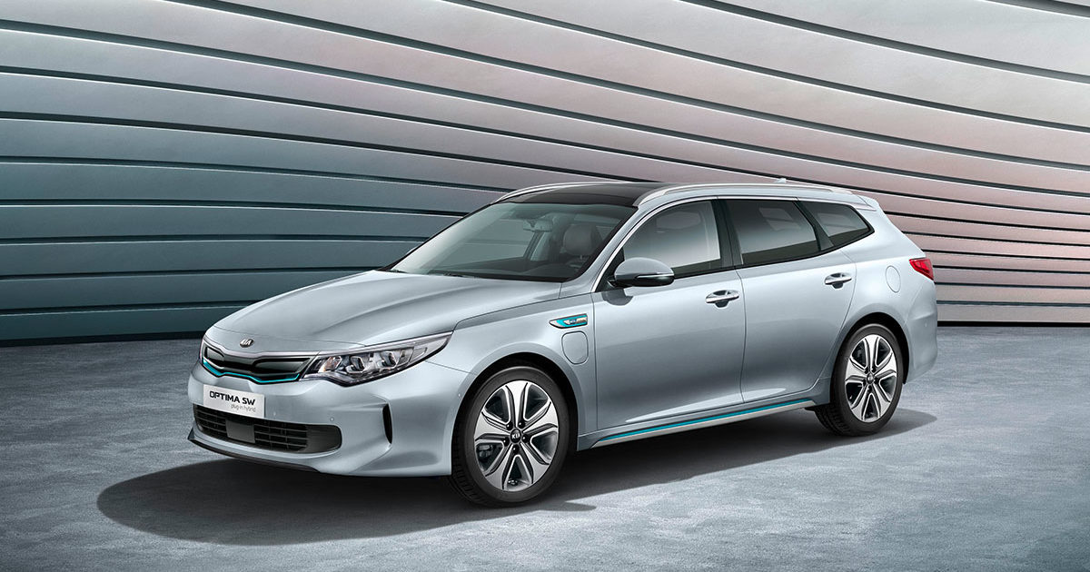 KIA Optima Sportswagon Plug-in Hybrid 2017
