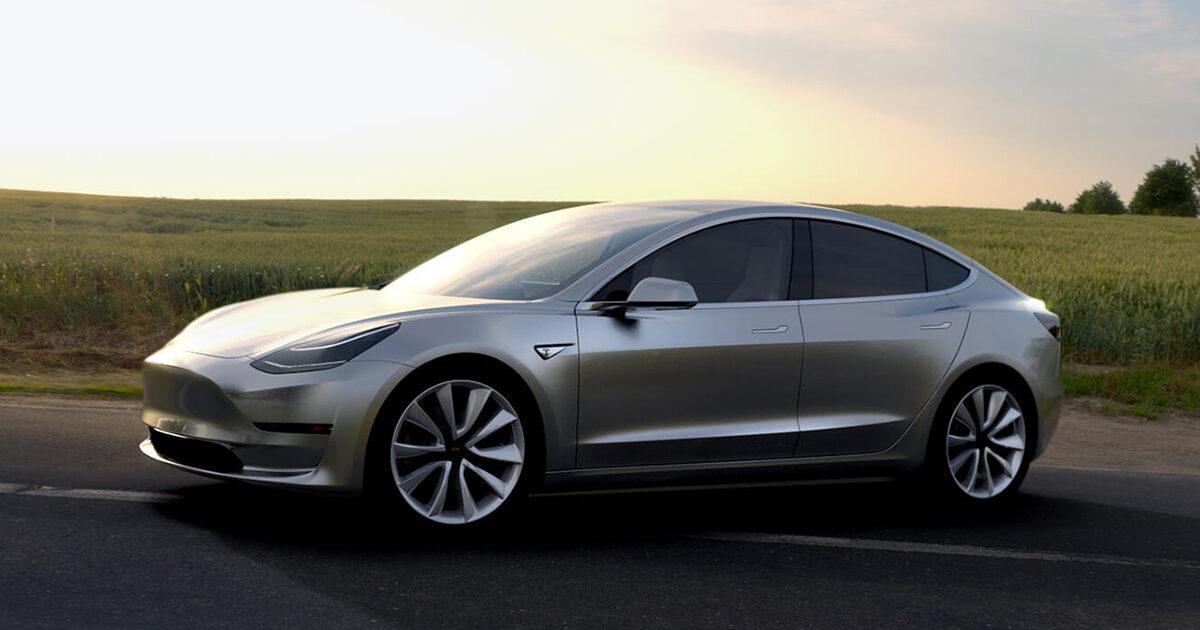 Маск продемонстрировал видео исследования свежей версии Tesla Model 3