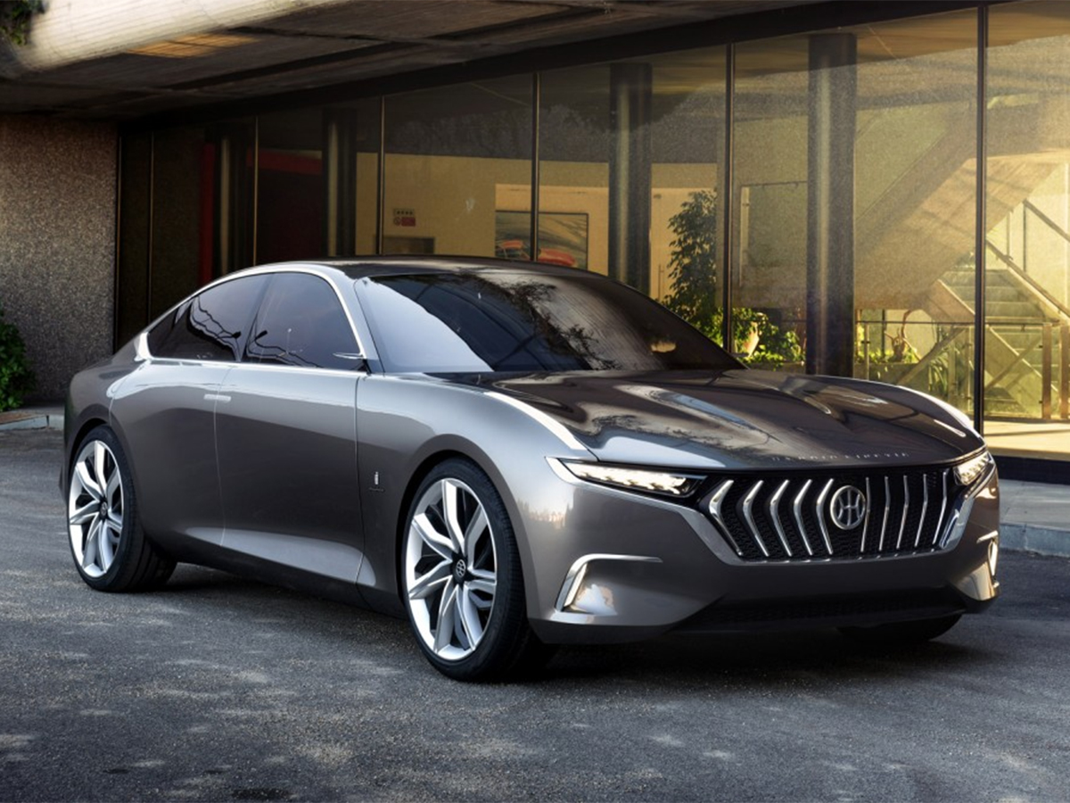 Hybrid Kinetic H600 by Pininfarina
