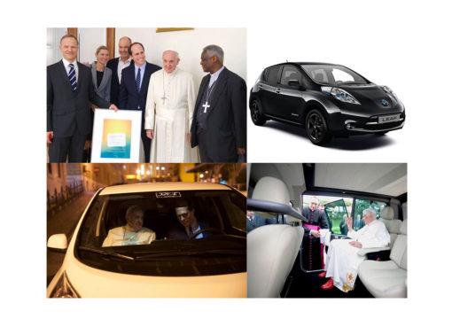 Nissan Leaf для папы Франциска