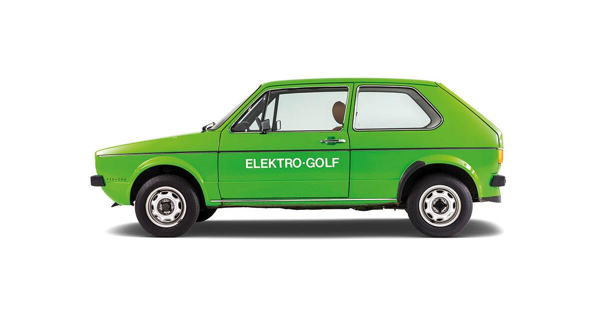Volkswagen Elektro Golf I 1976