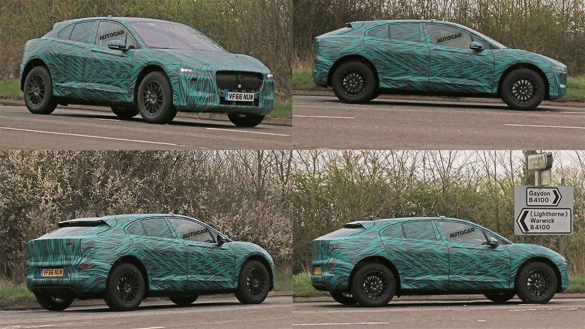 шпионские фотографии Jaguar I-Pace