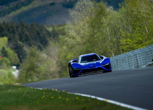 NIO EP9 Nurburgring Lap Record