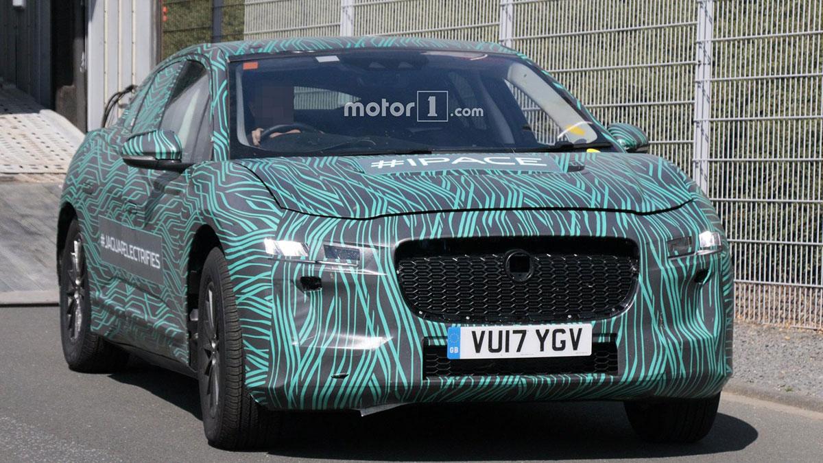 Jaguar I-Pace 2018. Фото motor1.com