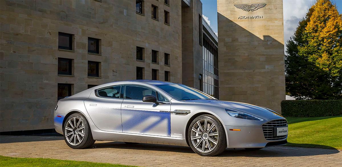 Концепт Aston Martin RapidE 2015 года