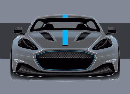 Aston Martin Rapide E 2019