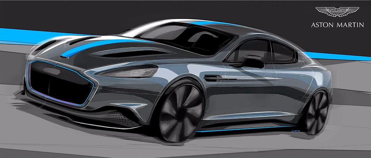 Aston Martin RapidE 2019