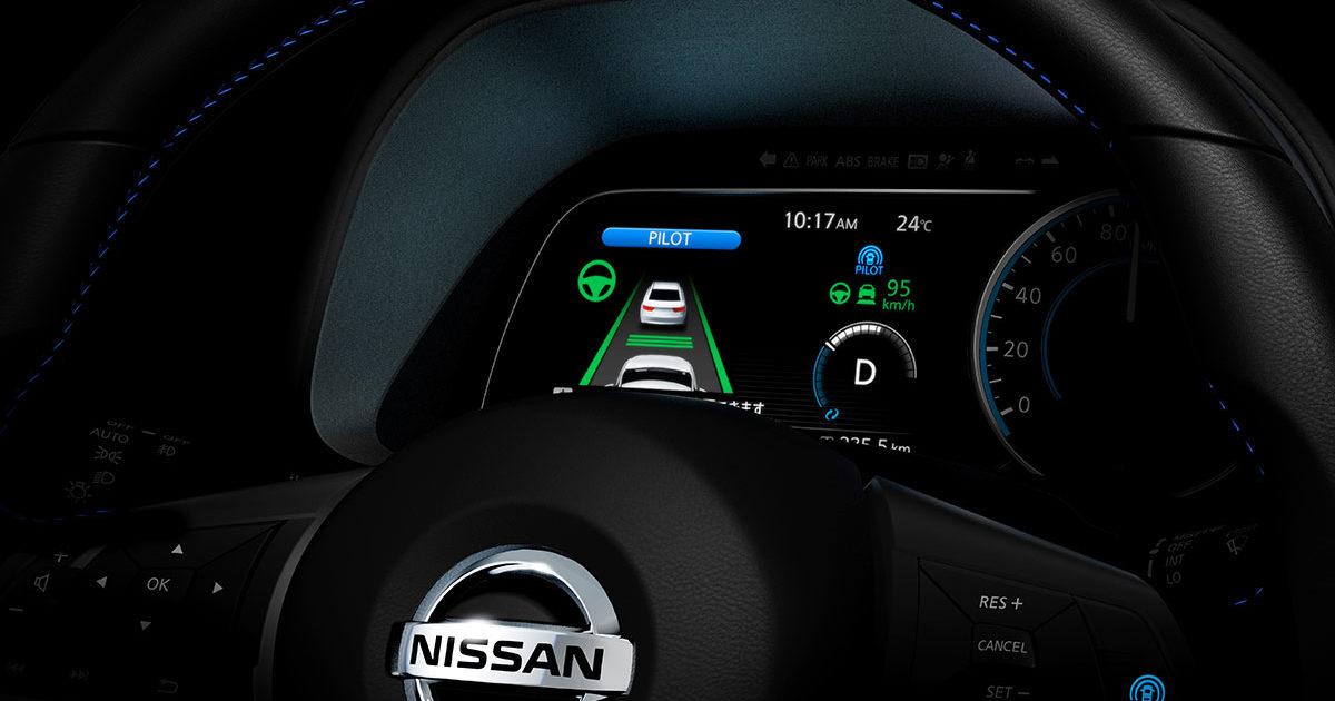 Новый Nissan Leaf впервые заметили натестах