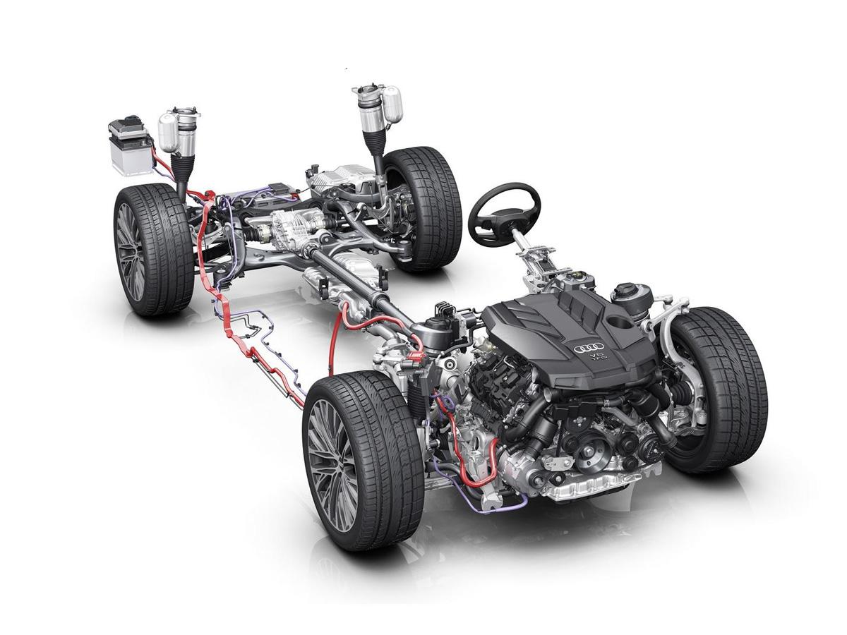 Audi A8 MHEV