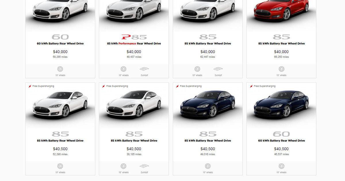 Tesla Pre-Owned