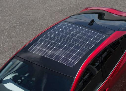 Toyota Prius Solar Roof