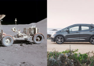 Chevrolet Bolt VS Lunar Rover