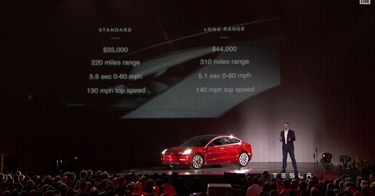 Tesla Model 3 Stecs