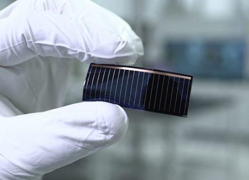 Audi solar-cell
