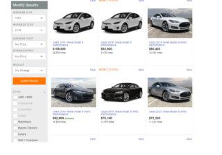buy used Tesla купить Tesla с пробегом