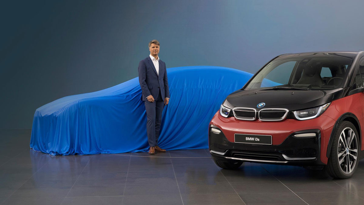 Харальд Крюгер BMW i5