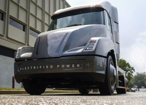 Cummins AEOS EV semi truck