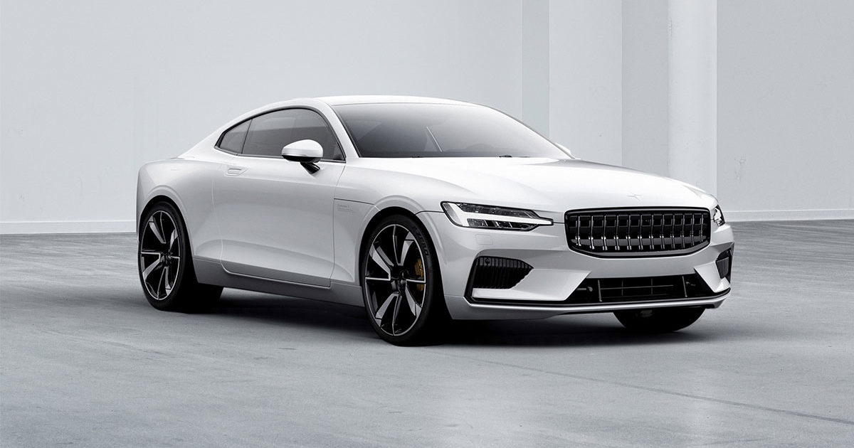 Polestar_1 600 hp electric coupe