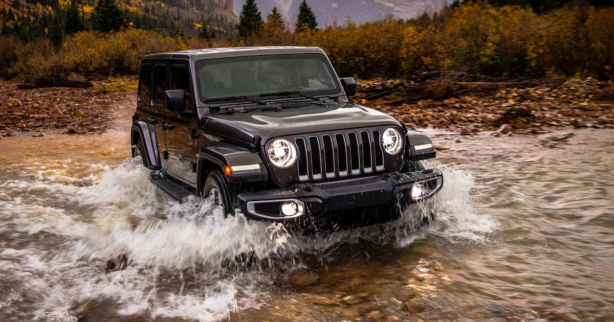 Плагин-гибридный Jeep Wrangler дебютирует в 2020-ом