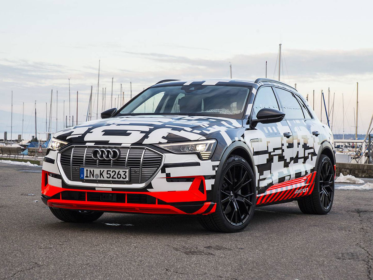 audi-e-tron-prototype electric SUV
