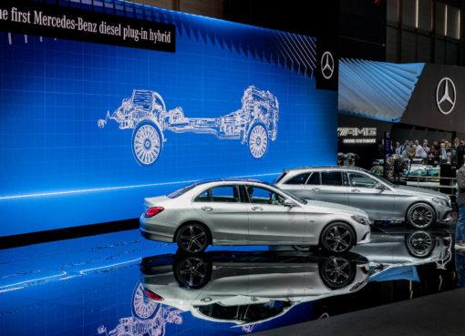 Mercedes Diesel Hybrid