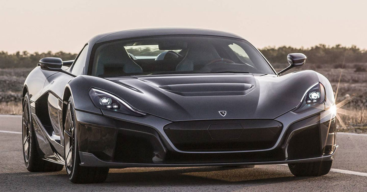 rimac-c-two electric hypercar