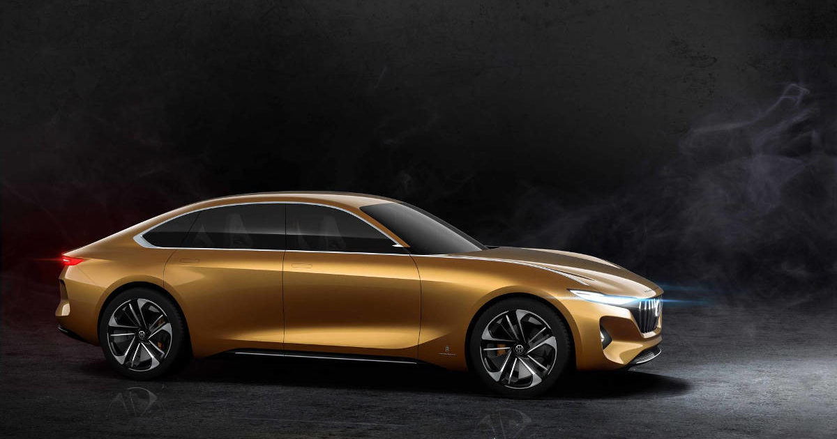 Pininfarina показала изображения нового электрического седана в 2019 году