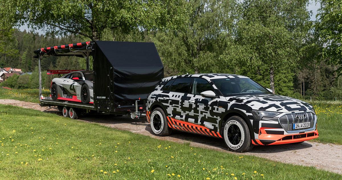 Audi-e-tron-prototype-tows-trailer-with-Audi-e-tron-Vision-Gran-Turismo