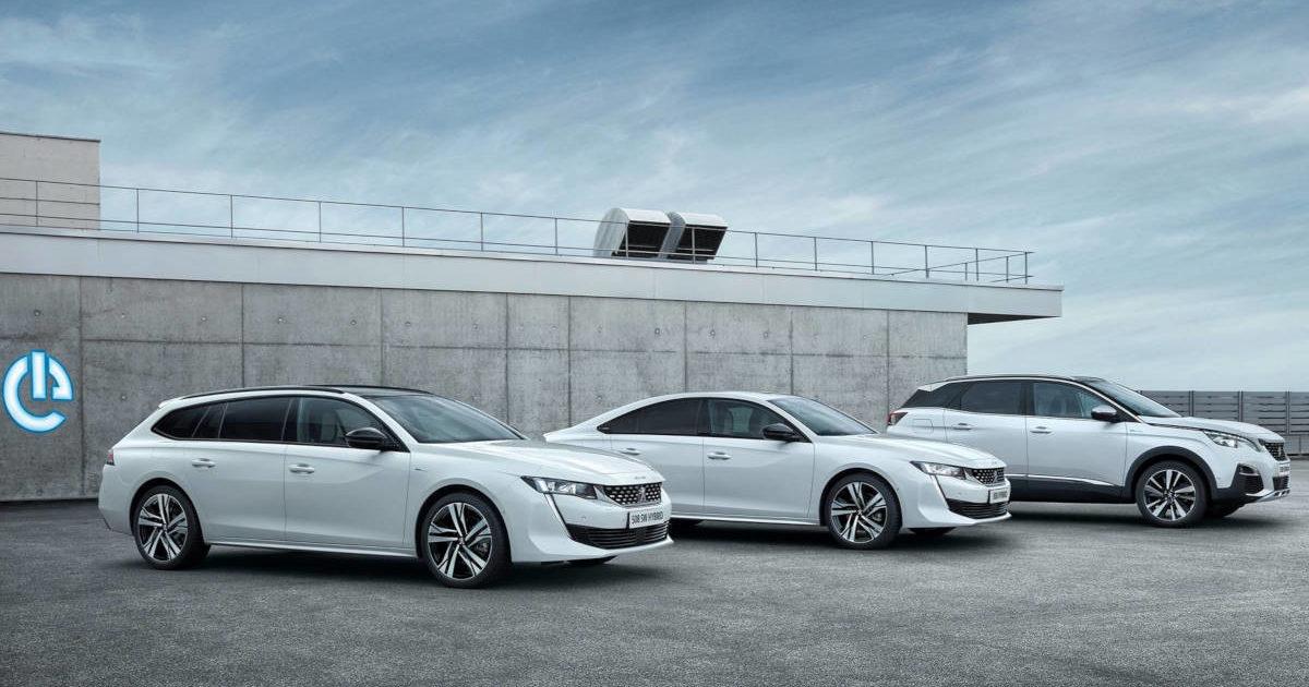 Peugeot (Пежо) представил гибридные версии 3008 и508