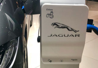 jaguar-charging EVlink