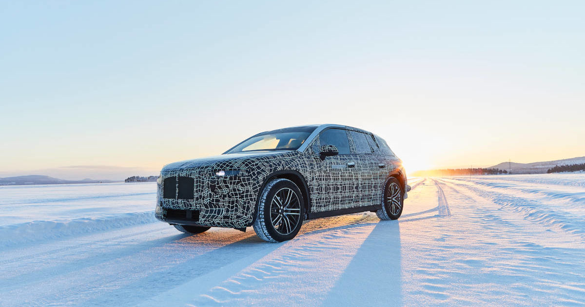 BMW iNext Production