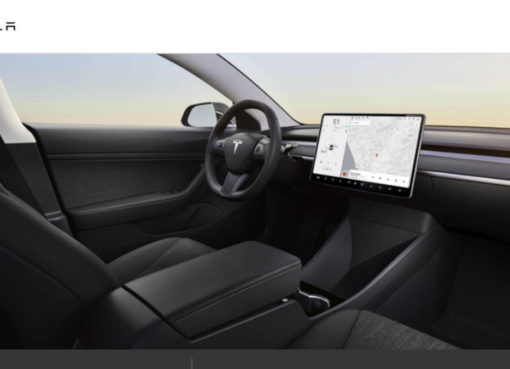 Tesla Model 3 Standard Range Interior