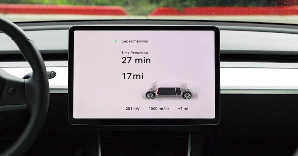 Tesla Supercharger V3