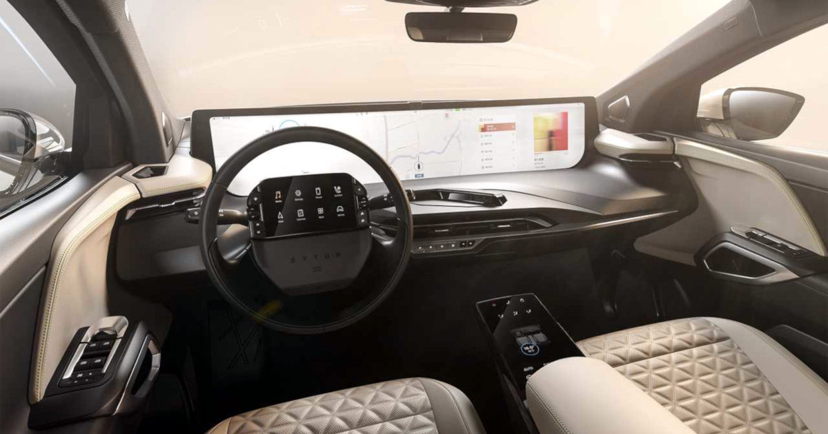 Byton M-Byte Interior