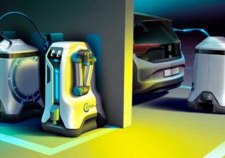 Volkswagen Charging Robot